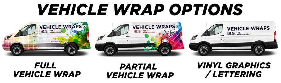 Provo Vehicle Wraps vehicle wrap options