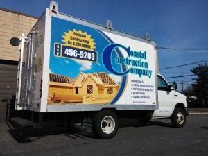 custom box truck wrap